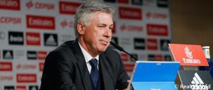 Ancelotti rueda prensa Liga Bernabeu