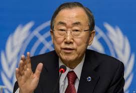 Ban ki-moon pide una