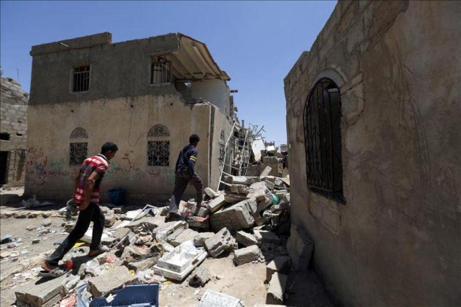 La coalición árabe anuncia el fin de sus bombardeos en Yemen