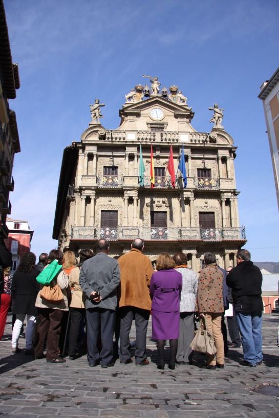 El Ayuntamiento de Pamplona organiza del 1 al 3 de mayo visitas guiadas por el Casco Antiguo