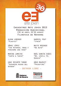 La Filmoteca de Navarra proyecta las obras audiovisuales finalistas en los Encuentros de Arte Joven