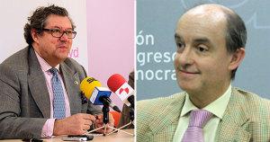 Los eurodiputados Enrique Calvet y Fernando Maura.