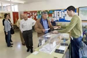 Mesa electoral Navarra