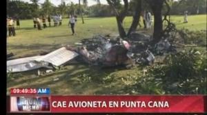 Mueren dos españoles al estrellarse una avioneta en República Dominicana