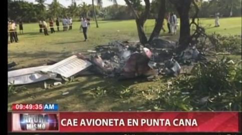 Mueren siete personas en un accidente de avioneta en Punta Cana, dos de ellos españoles