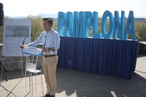 "Pablo Zalba (PPN) propone el programa ""Despierta Pamplona"""