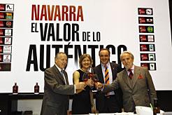 Navarra participa hasta el día 16 en el Salón de Gourmets de Madrid con un stand de 246 m2
