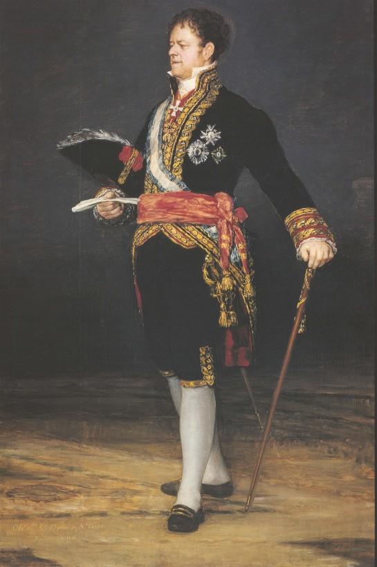 El Retrato del Duque de San Carlos de Goya viajará a la National Gallery de Londres