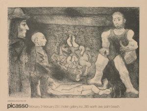 grabados de la Suite 347 de Picasso