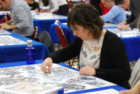 Laura Aranguren a escasos dos minutos del ganador de Puzzles