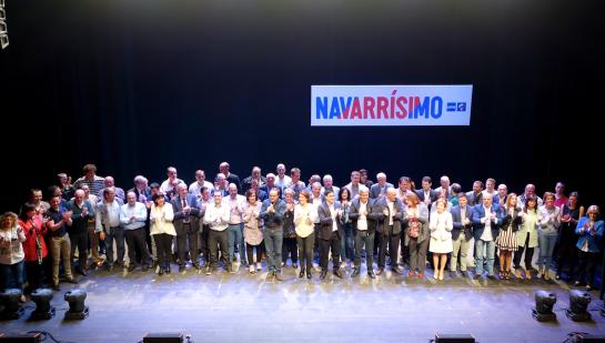 UPN presenta en Tudela a sus más de 80 candidatos municipales a las próximas elecciones