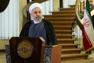 Fotografía facilitada en la página web del gobierno iraní que muestras al presidente iraní Hasán Rohaní