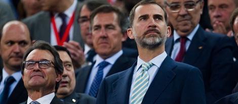 Atronadora y vergonzosa pitada al himno nacional en la primera final de Copa de Felipe VI