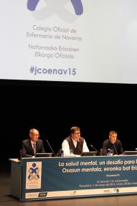 De izquierda a derecha, Carlos Sesma, Alfredo Martínez y Rubén Maeztu