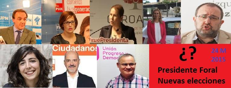 Los partidos cerrarán la campaña con actos en Pamplona tras 15 días pidiendo el voto