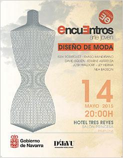 Finales de música y moda de los Encuentros de Arte Joven en Pamplona