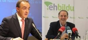 Esparza y Araiz muestran sus discrepancias con un duro debate sobre ETA
