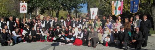 La plaza del Castillo de Pamplona acoge este sábado la celebración del Día de las Casas Regionales