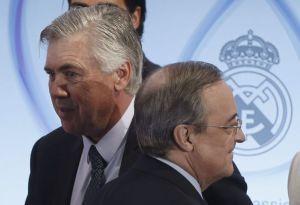 Florentino Perez y Carlo Ancelotti