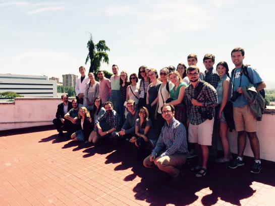 20 universitarios de Carolina del Norte visitan la Universidad de Navarra