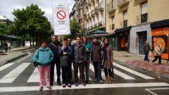 I-E apuesta por «peatonalizar» el Paseo Sarasate de Pamplona