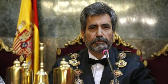 Lesmes denuncia ataques a jueces y afirma que el CGPJ velará por su independencia