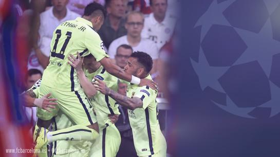 El Barcelona, a la final de la Champions pese a caer en Múnich