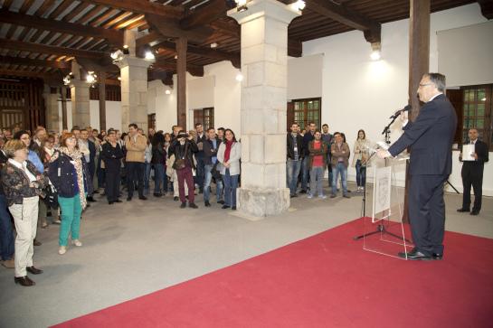 El alcalde de Pamplona recibe a los participantes del XXXV Congreso Nacional de Estadística