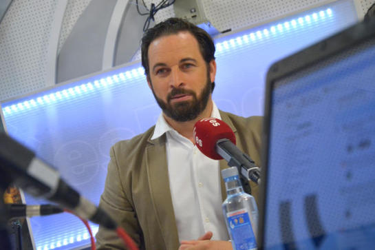 Abascal (VOX): «Tirar el voto es lo que yo hice cuando voté a Mariano Rajoy»