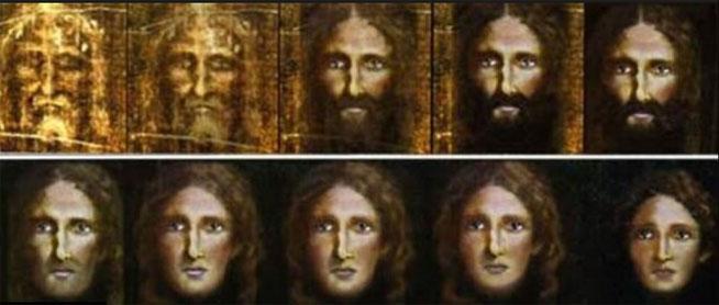 Reconstruyen la imagen de Jesuscristo de niño a partir de la Sábana Santa