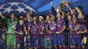 Barcelona quinta champions