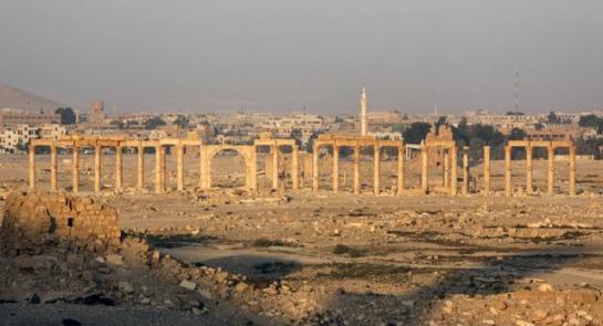Estado Islámico ha comenzado a destruir con explosivos santuarios de Palmira en Siria