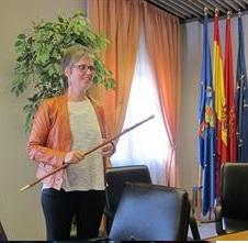 Oihane Indakoetxea de EH Bildu, alcaldesa de Barañáin (Navarra)
