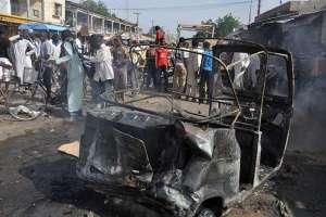 atentado suicida en mercado Nigeria