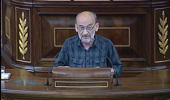 """Serrano (Geroa Bai) plantea desviar fondos de los PGE de la partida """"militar"""" a las Pymes"""