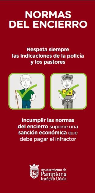 El Ayuntamiento de Pamplona actualiza el vídeo de normas del encierro