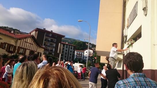 XIV Aniversario del asesinato de José Javier Múgica a manos de ETA en Leiza