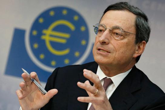 Draghi: la economía se ha acelerado más de lo esperado en segunda mitad 2017