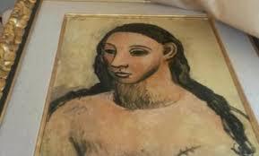 El 'picasso' incautado en Córcega, trasladado al museo Reina Sofía
