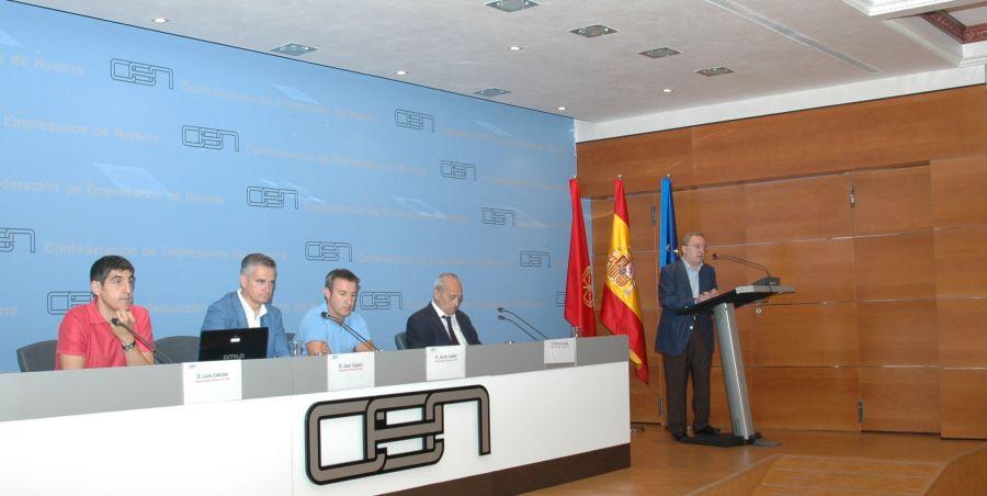 """La Confederación de Empresarios de Navarra muestra su """"total oposición"""" a la reforma fiscal del Gobierno foral"""