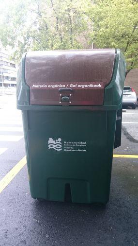 El lunes y el martes serán sustituidos los contenedores de recogida de materia orgánica en Barañáin