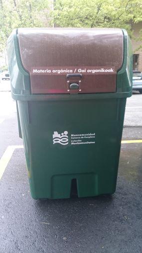 La Mancomunidad de la Comarca de Pamplona finaliza la implantación del quinto contenedor