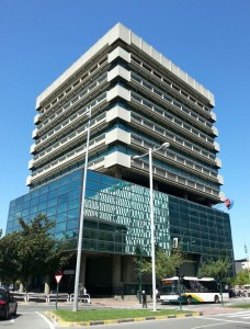 Sede del Departamento de Salud del Gobierno de Navarra