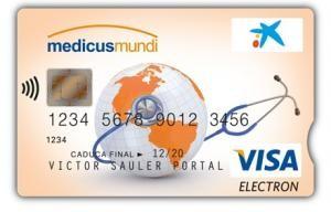 CaixaBank lanza la tarjeta Visa Medicus Mundi