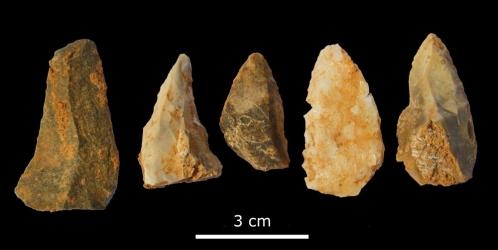 Hallan en Barcelona una estación de cacería neanderthal