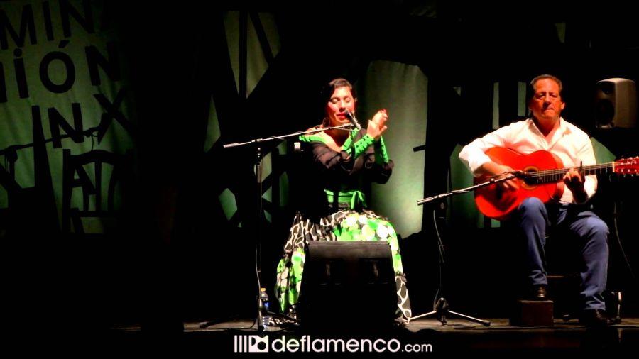 María José Pérez Rodríguez gana la Lámpara Minera del Cante de las Minas