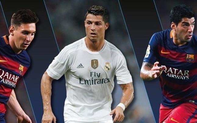Messi, Suárez y Cristiano compiten por el premio al mejor jugador de la UEFA