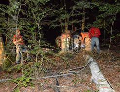 Fallece un hombre de 75 años al accidentarse cuando conducía un tractor en Iriberri de Atez