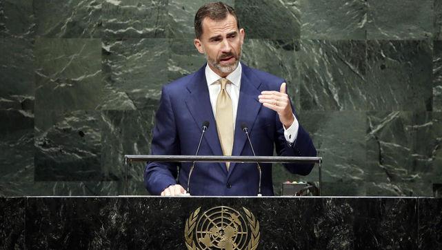 Felipe VI pide ante la ONU perfeccionar el modelo de crecimiento