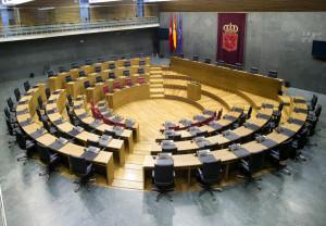 Hemiciclo parlamento de navarra